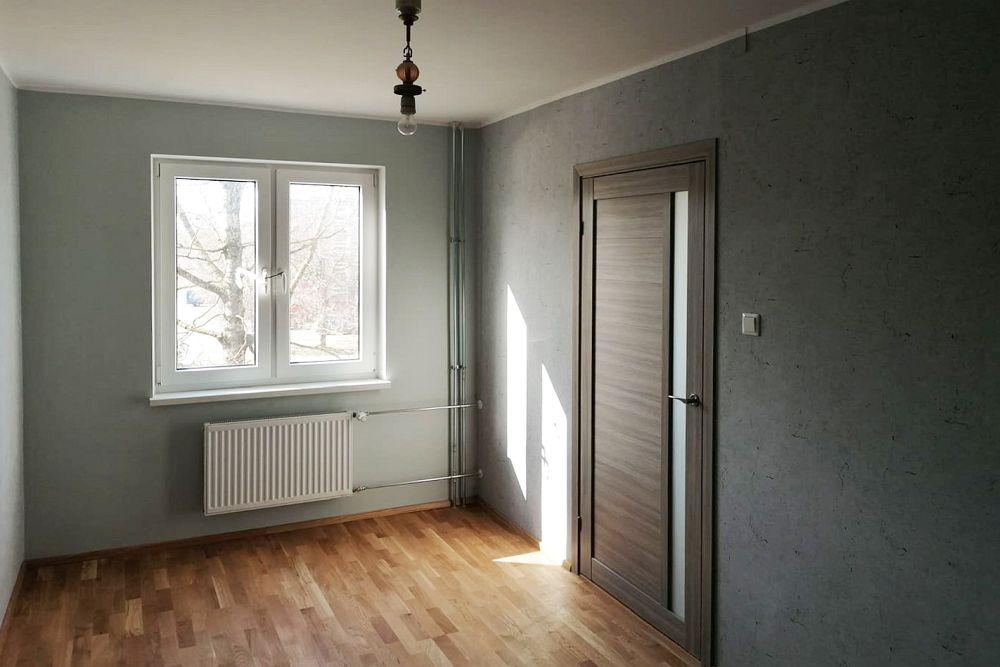 Korteri renoveerimisel on siseviimistlus uuendatud - magamistuba